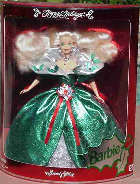 Caroling fun barbie.